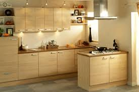kitchen in small space design over the head wall mounted microwave