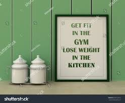 motivation words get fit gym lose stock illustration 358722812