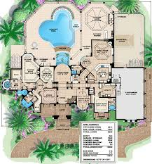 mediterranean villa house plans plan 66233we mediterranean sitting area pantry and butler