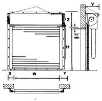 Overhead Roll Up Doors Thermal Guard Insulated Service Doors