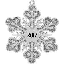 crystals from swarovski harvey lewis silver snowflake