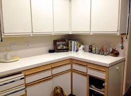 Wood Grain Laminate Cabinets Best 25 Laminate Cabinet Makeover Ideas On Pinterest Painting