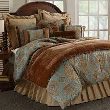 Eastern Accents Bedset Amazon Com Hiend Accents Bianca 4 Piece Comforter Set Queen
