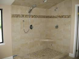 Travertine Vs Porcelain Tile - Travertine in bathroom