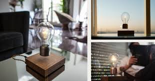 Levitating Light Bulb by Flyte And Lyfe The Floating Lightbulb And Planter Designed By
