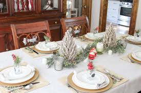 christmas dining room decorations simple christmas dinner table decoration ideas excerpt how to