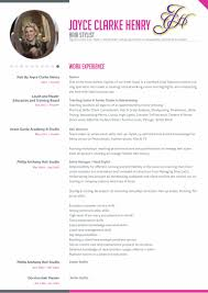 Picture On Resume Yes Or No Joyce Clarke Henry Hairdresser Resume