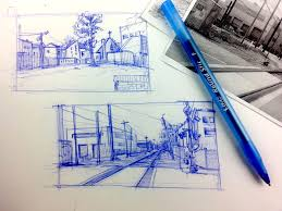 urban sketching series pt 3 tips on how to breakdown a scene to