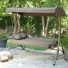 Patio Chair Swing Patio Swings With Canopy Menards Home Outdoor Decoration