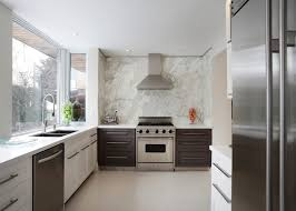 backsplash for kitchen without cabinets trend creating a light filled kitchen with no