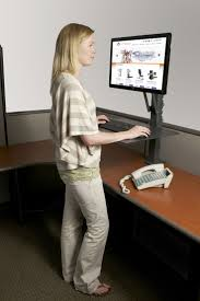 what height should a standing desk be