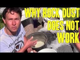 Rock Dust Gardening Why Rock Dust Does Not Work Garden Pleasure