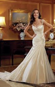 custom made wedding dress satin beading white ivory wedding dress bridal gown custom made 2
