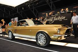 ford mustang 1967 shelby gt500 for sale 1968 shelby gt500 sells for 137 500 at barrett jackson mustangs
