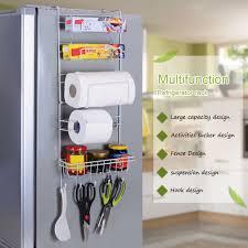 Kitchen Cabinet Door Storage Nc 6 Tier Multi Purpose Metal Kitchen Cabinet Refrigerator Side