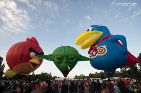canberra air balloon festival celebrated in australia xinhua