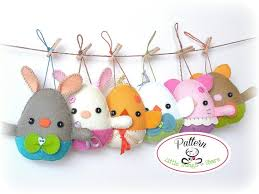 easter ornaments egg plushies pdf pattern easter eggs sewing pattern egg animals