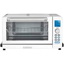 Best Convection Toaster Ovens Cuisinart White Toaster Oven Broiler Tob 135w The Home Depot