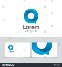 icon design element business card template stock vector 183596762