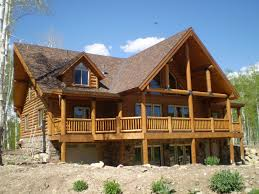 floor original california log homeslog home floorplans plans