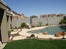 Backyard Trees Landscaping Ideas Arizona Tropical Landscape Design With Sod Palm Trees Plants