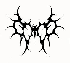tribal angel devil wings tattoo stencil tattooshunt clip art