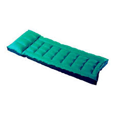 customer reviews of single canvas rubber inflatable air bed by sevylor