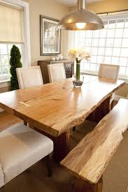 have formal table with full set of chairs extra bench to use
