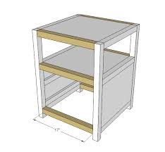 ana white rhyan end table diy projects ana white build a rhyan end table free and easy diy project and