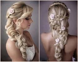 bridal hairstyle long hair women medium haircut