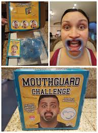 Challenge Romanatwood Brag Worthy Hilarious Mouthguard Challenge Makes
