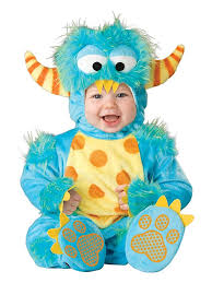 Halloween Baby Costumes 0 3 Months Amazon Incharacter Baby Lil U0027 Monster Costume Clothing