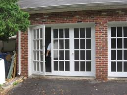 Garage Door Conversion To Patio Door Garage Conversion Brick Exterior Affordable Garage Door