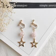 clip on earrings malaysia buy jianyue ear clip pearl earrings price in