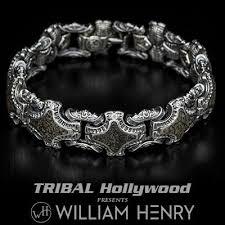 fossil silver bracelet images William henry green gray dinosaur fossil silver bracelet jpg
