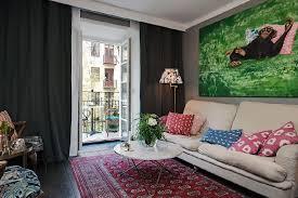 interior design living dark walls wood make for a warm cozy