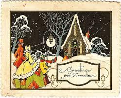 232 best christmas cards images on pinterest vintage cards