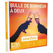 smartbox cuisine du monde box bulle de bonheur à deux smartbox espace culturel e leclerc