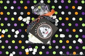 Halloween Goodie Bags Emoji Ghost Halloween Goodie Bags Loves Glam