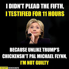 Proxy Meme - she also didn t claim any executive privilege by proxy bs and