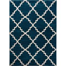 well woven sydney lulu u0027s lattice trellis navy blue 7 ft 10 in x
