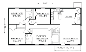 floor plan free simple house floor plans masters mind