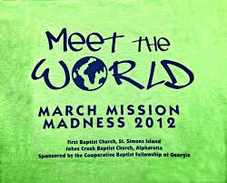 march mission madness cooperative baptist fellowship of georgia