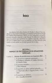 manual de psicofarmacologia de m salazar peralta y pastor