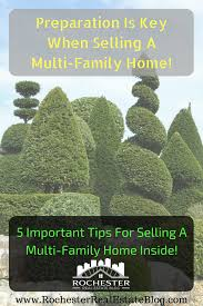 5 important tips for selling a multi family home