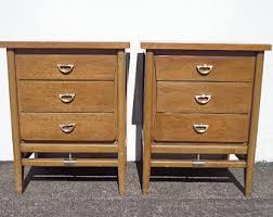Vintage Bedside Tables Retro Bedside Table Etsy