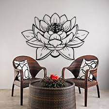 online buy wholesale chinese wall decal from china chinese wall hwhd new home house chinese lotus wall decals flower art pattern yoga decal vinyl sticker home