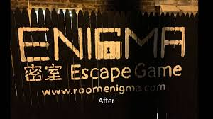 room enigma nyc escape game store logo painting youtube