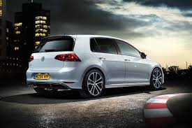 sporty vw golf r line revealed carbuyer