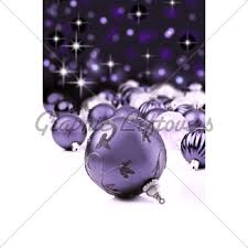 purple ornaments with background gl stock images